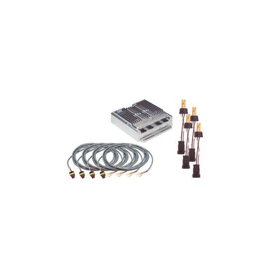 9460-15 4-Head Hide-Away System Amber Remote Strob