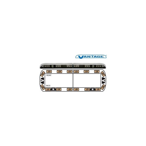 "12-00004-E 48"" Amber Vantage LED Lightbar"
