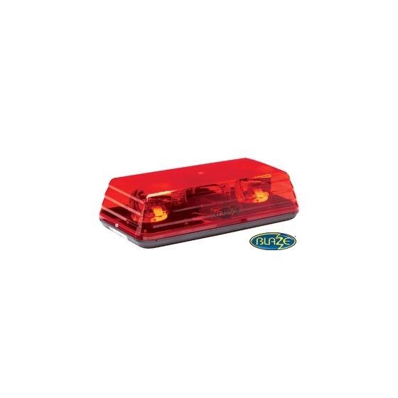 "5135R  Blaze II Permanent 15"" Red Rotating Mi"