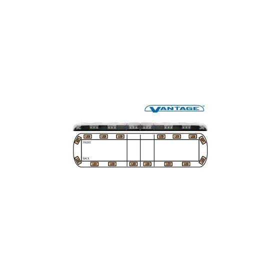 """12-00003-E 60"""" Amber Vantage LED Lightbar"""