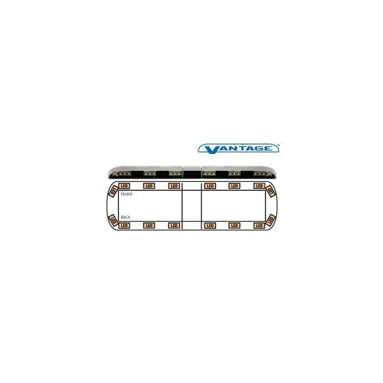 """12-00002-E 54"""" Amber Vantage LED Lightbar"""