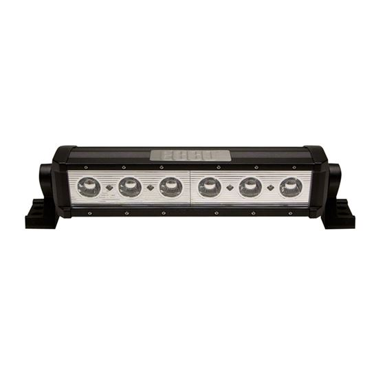 "12"" Spot Beam 6-LED Single Row 10W Utility Ba"