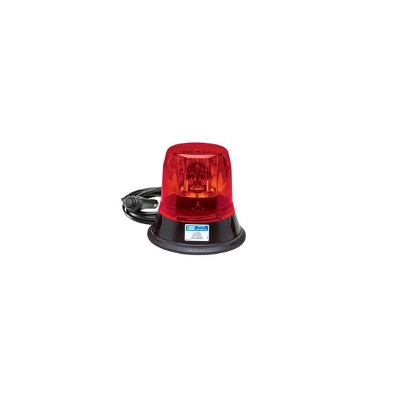 5813R-MG Magnet Mount Red Rotating Beacon