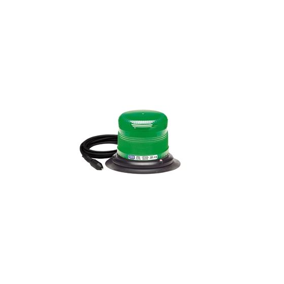6550G-VM Vacuum Magnet Green Strobe Beacon