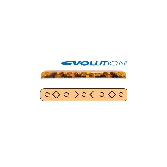 "6545001 54"" Evolution 3-Rotator Amber/Clear/A"