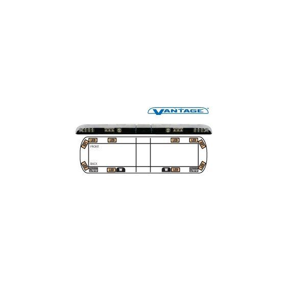 """12-00007-E 54"""" Amber Vantage LED Lightbar"""