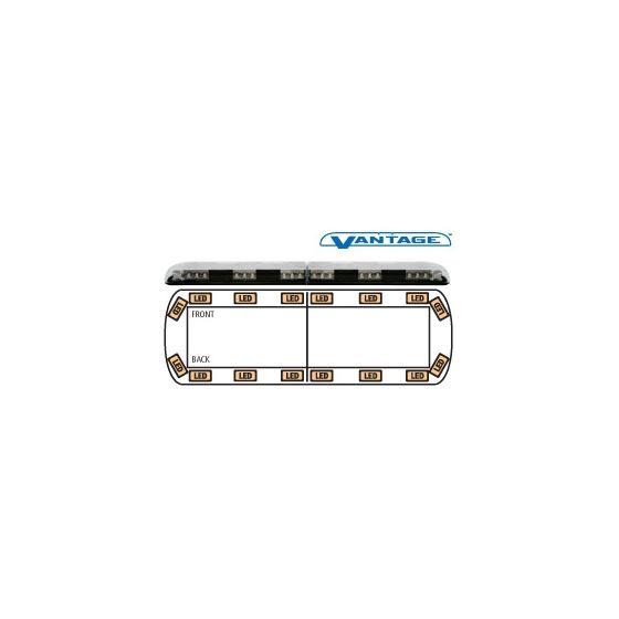 """12-00001-E 48"""" Amber Vantage LED Lightbar"""